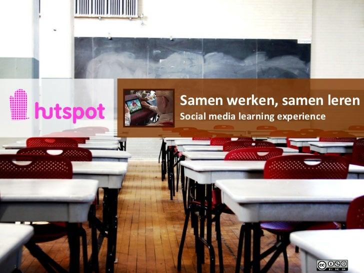 Workshop: Samen werken, samen leren - Profiel S