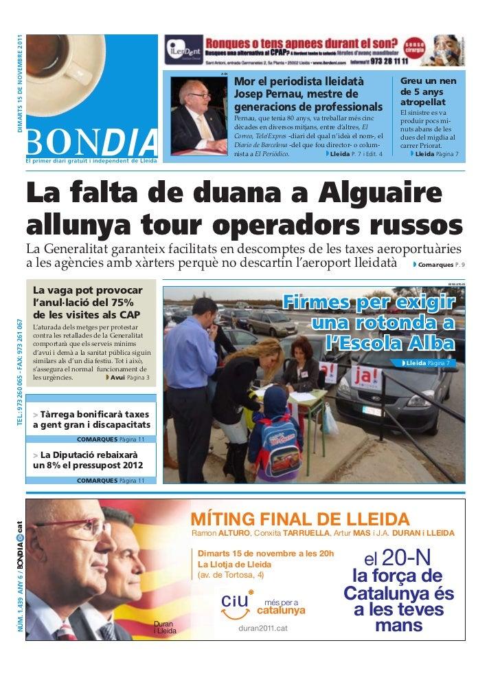 BonDia Lleida 15112011