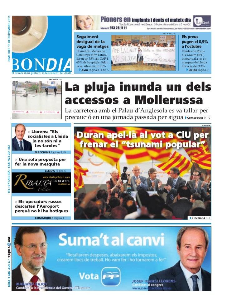 BonDia Lleida 16112011