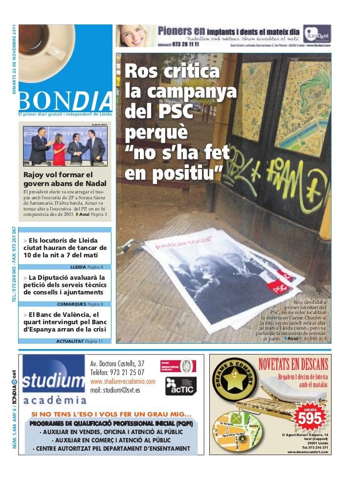 BonDia Lleida 22112011
