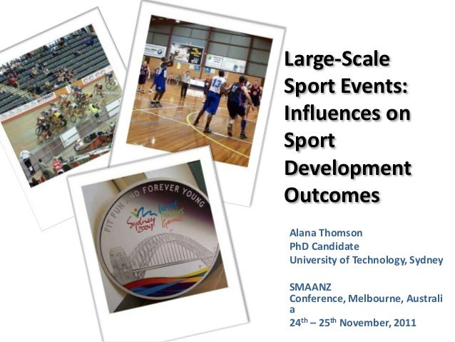 Large-Scale Sport Events: Influences on Sport Development Outcomes