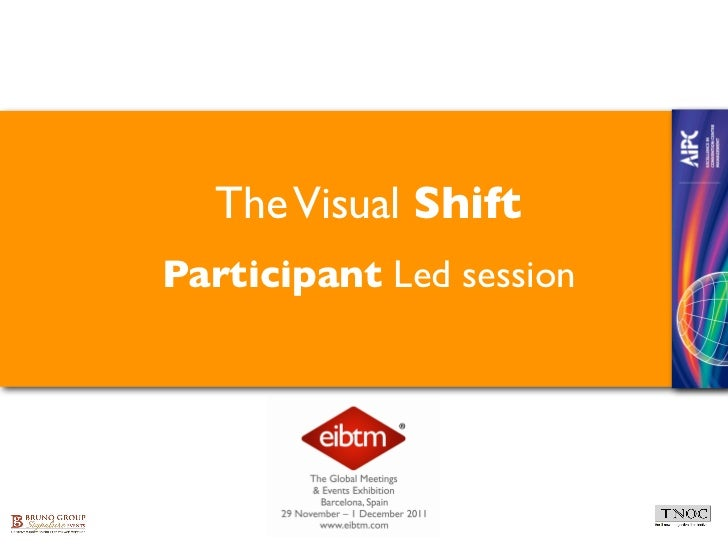 The Visual ShiftParticipant Led session