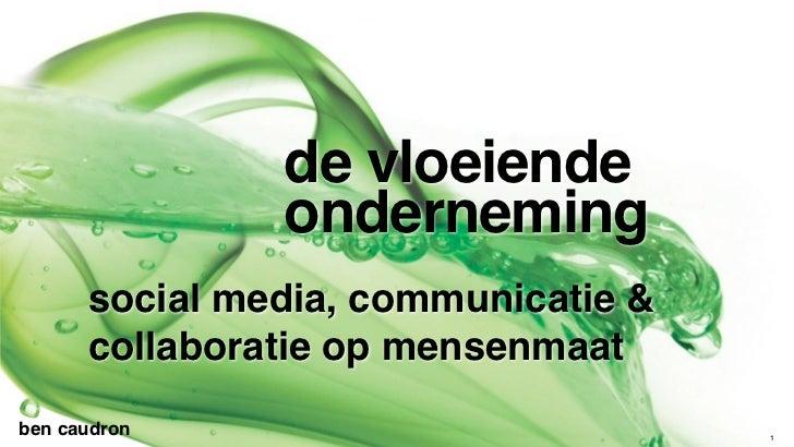 de vloeiende                    onderneming          social media, communicatie &          collaboratie op mensenmaatben c...
