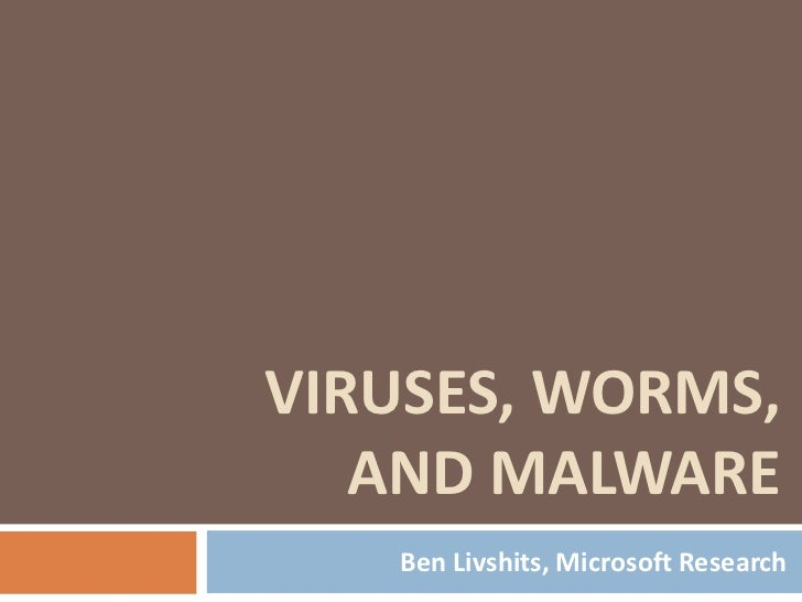 20111204 intro malware_livshits_lecture02