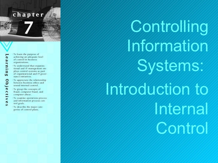 controlling information system