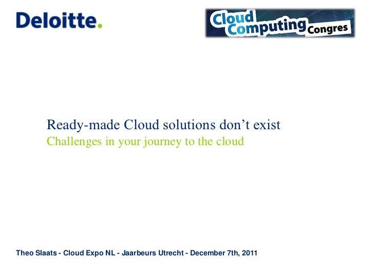 20111206 Cloud Expo Nl Jaarbeurs 7 Dec