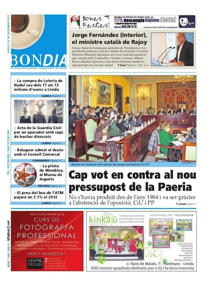 BonDia Lleida 22122011