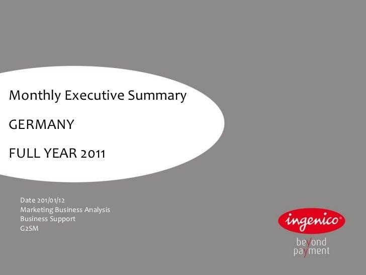 2011 12 ger_executive summary