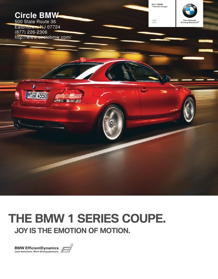 2011 BMW                                          1 Series Coupe     Circle BMW                               128i        ...