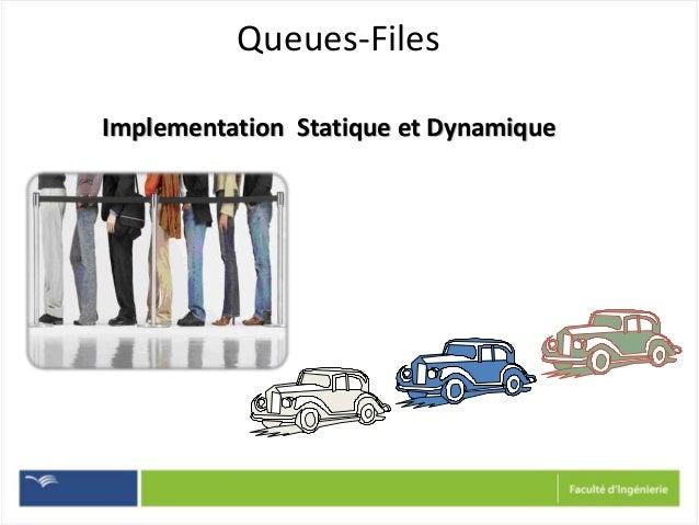 Queues-Files Implementation Statique et Dynamique
