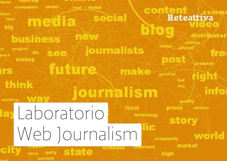 LaboratorioWeb Journalism