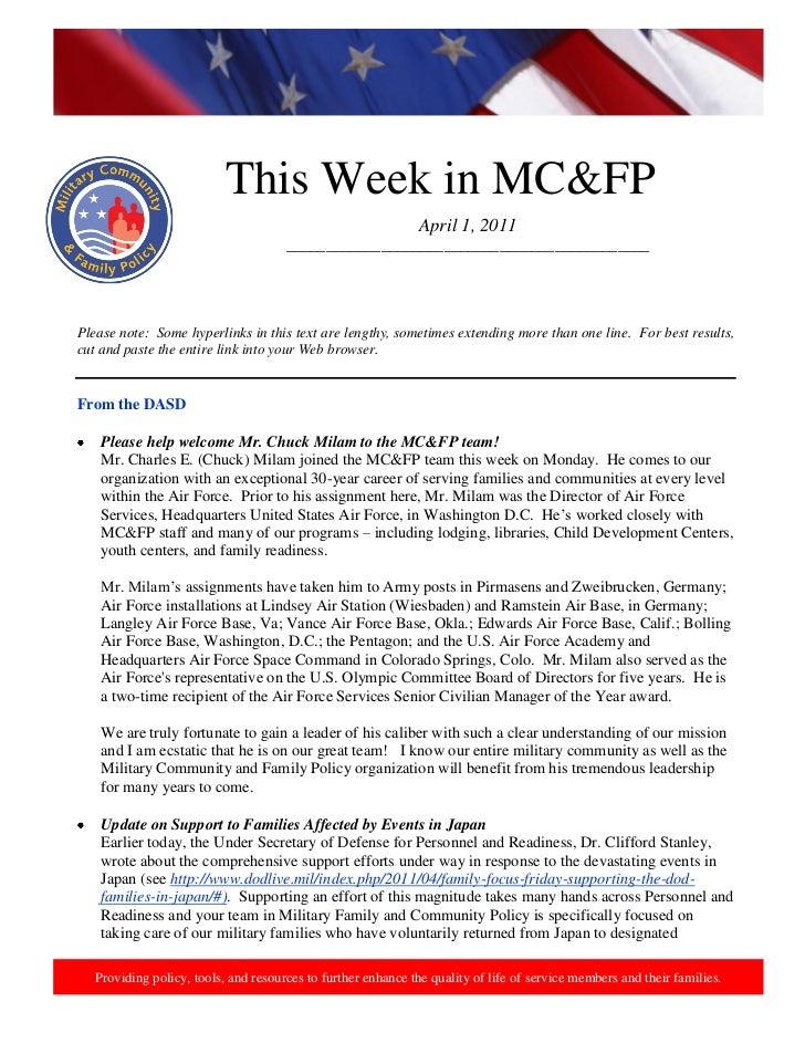 2011 4 1  this week in mcfp april 1  2011 (1)