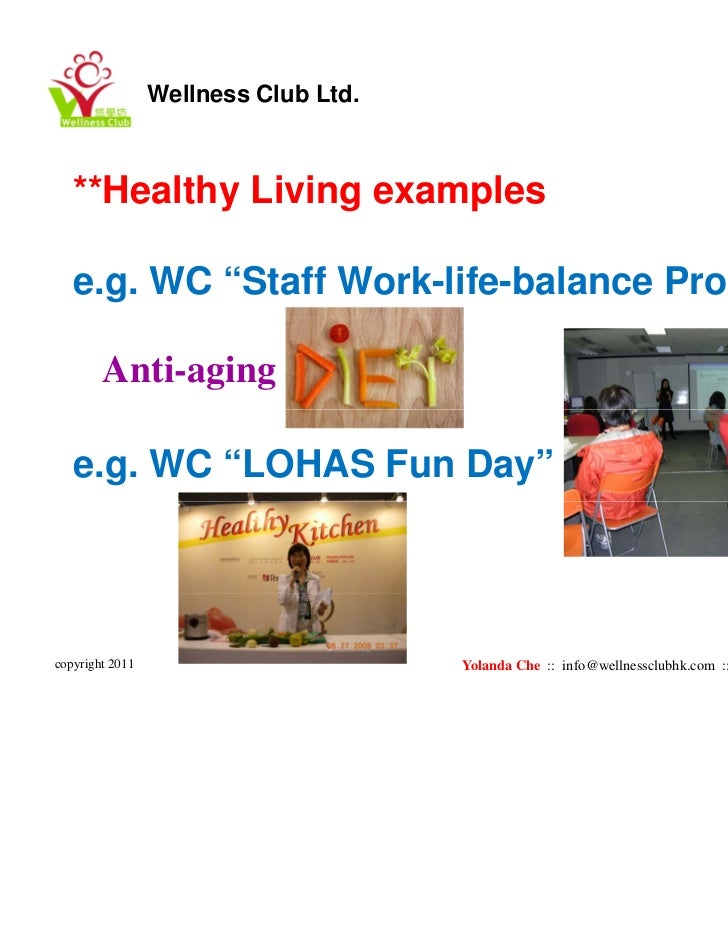 Work Life Balance Programs Example Work Life Balance Program