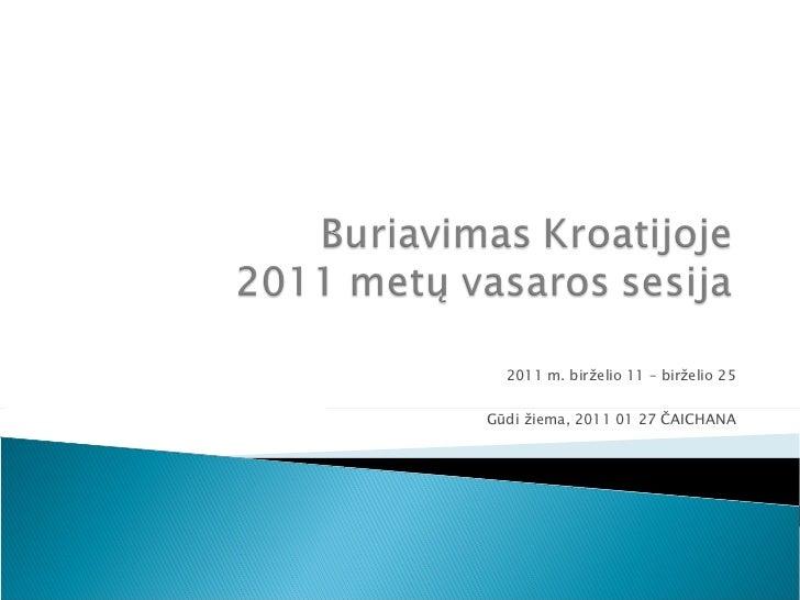Instruktažas (2011 Adrija)