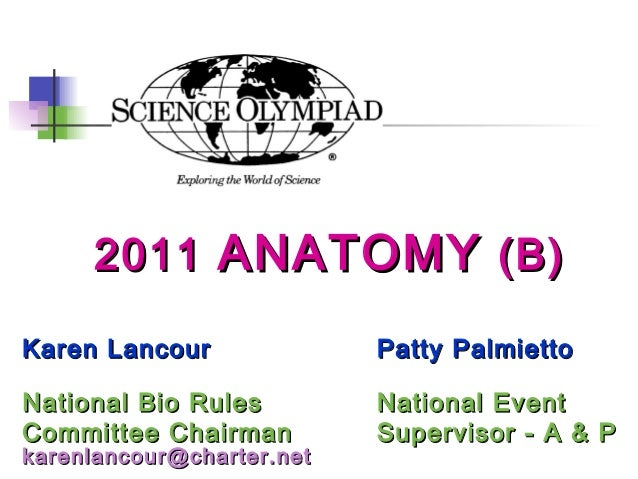 2011 anatomy training powerpoint