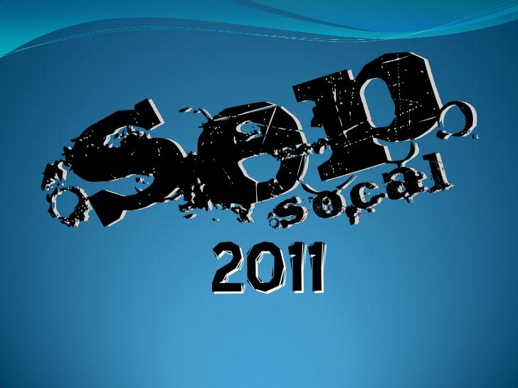SEP So Cal Youth Camp 2011 Announcement
