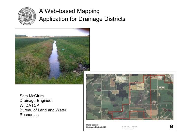 Drainage District Web Application