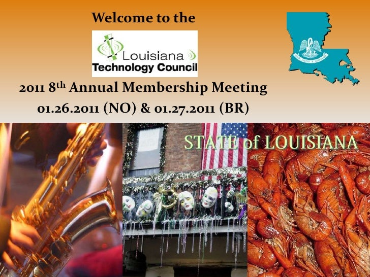 2011 Annual Membership Meeting Slideshow