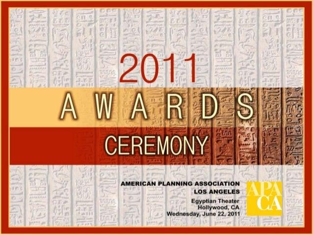 Egyptian TheaterWelcome - Gabriela JuárezAPA LA Vice Director, AwardsAPA Los Angeles Address & Awards Introduction - Krist...