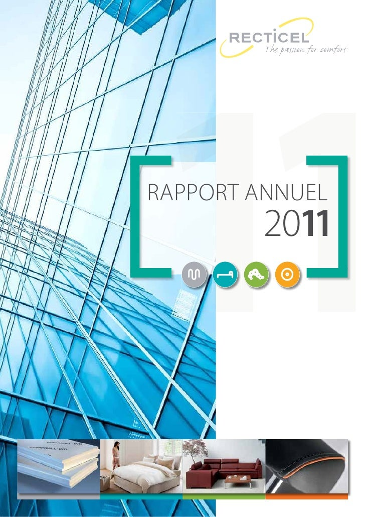 2011 RAPPORT ANNUEL RECTICEL - CORP.