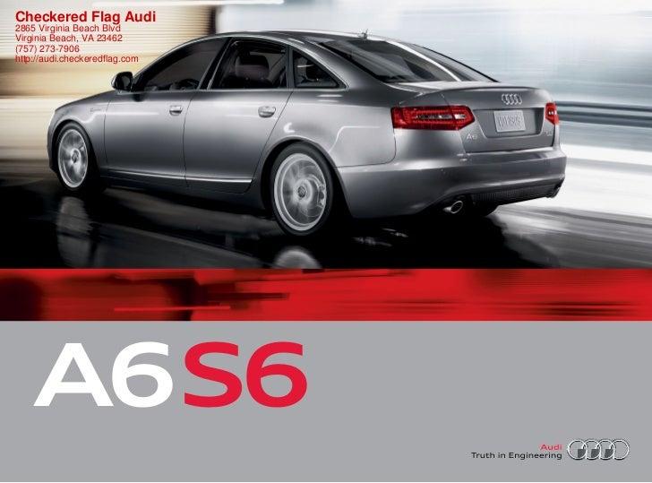 2011 Audi A6 For Sale In Virginia Beach VA | Checkered Flag Audi