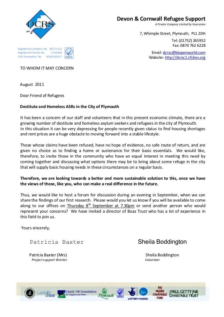 Devon & Cornwall Refugee Support                                                                           A Private Compa...