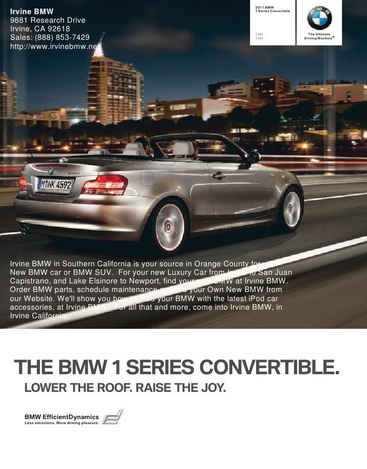 2011 Irvine BMW 1 Series Los Angeles CA