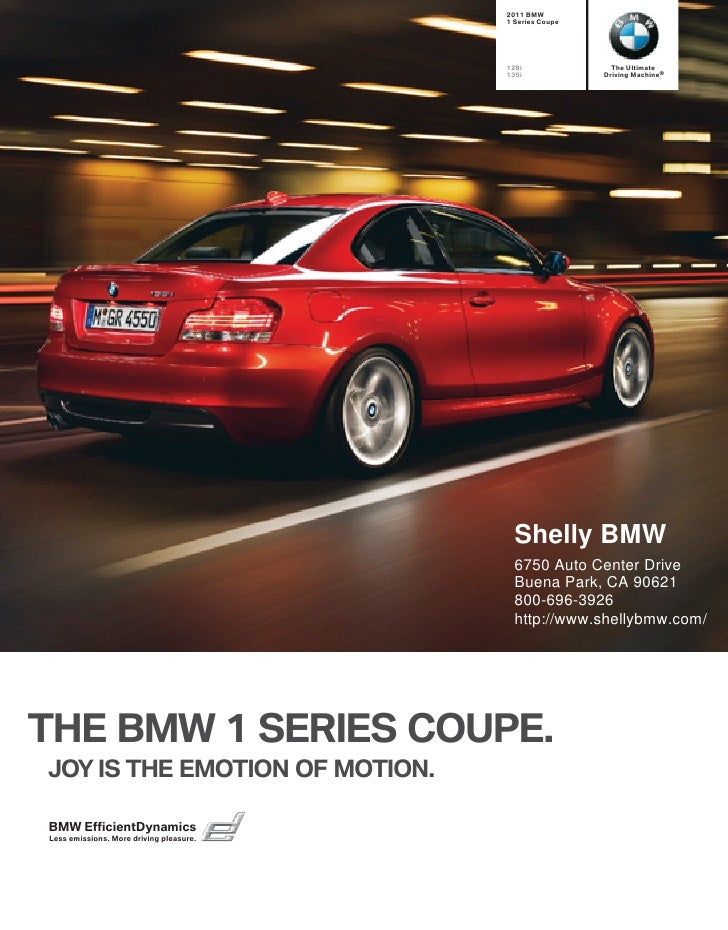 2011 Shelly BMW 128i Coupe Los Angeles CA