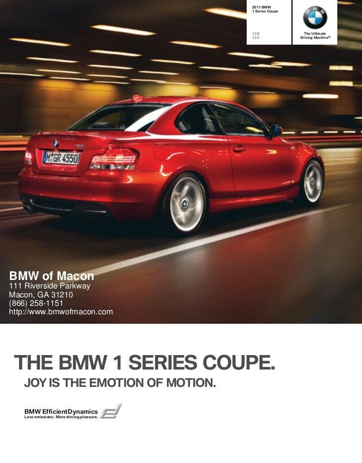 2011 BMW 1 Series Macon GA | BMW of Macon