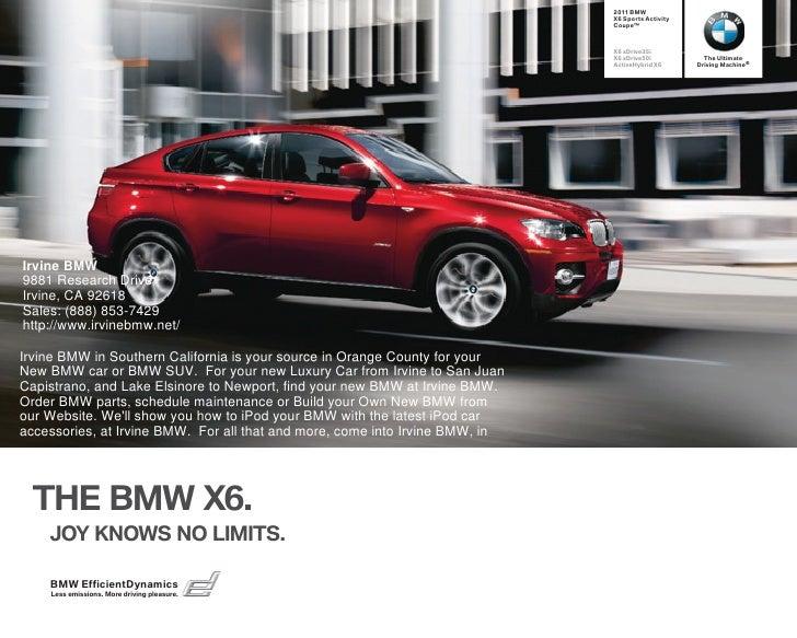 2011 BMW                                                                               X6 Sports Activity                 ...
