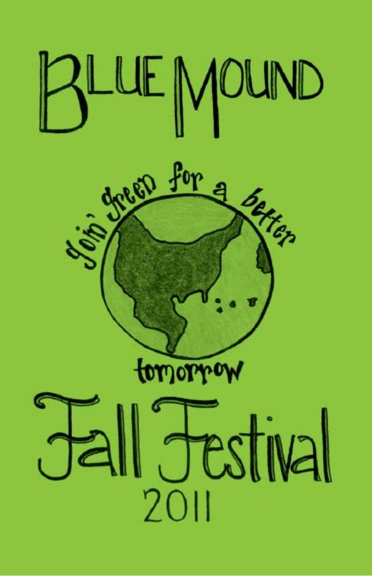 2011 Blue Mound Fall Festival Booklet