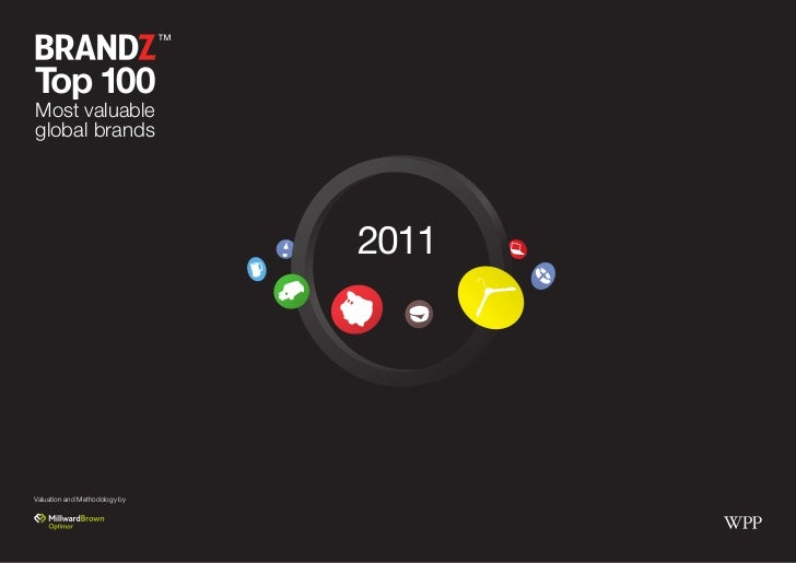 Millward Brown top 100 brand in 2011