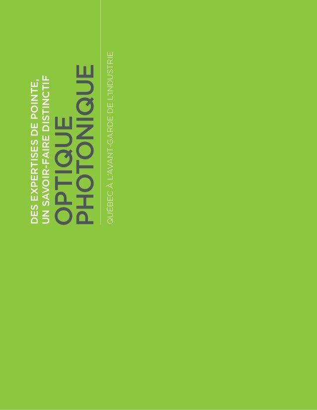 Optique-photonique - Brochure