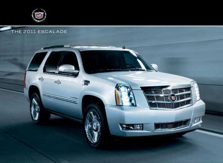 2011 Cadillac Escalade EXT Brochure hartford