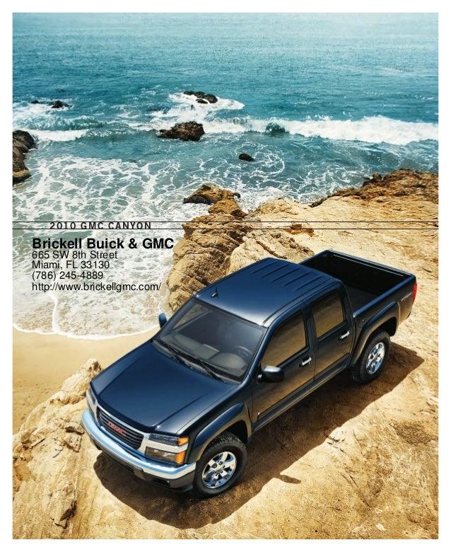 2011 GMC Canyon Miami FL- Brickell Buick & GMC