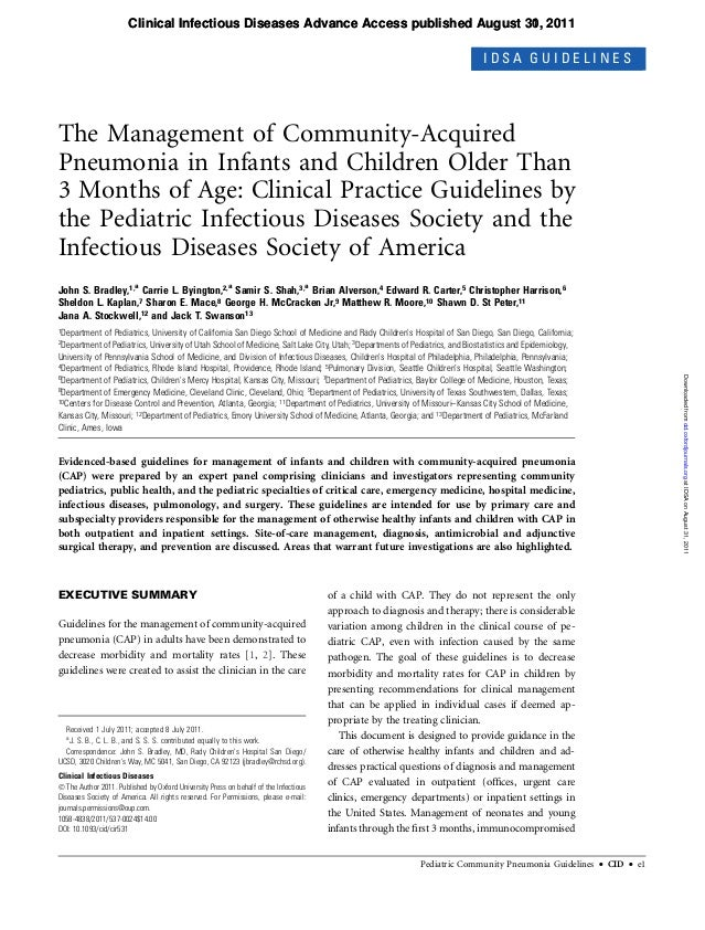 Clinical Infectious Diseases Advance Access published August 30, 2011                                                     ...