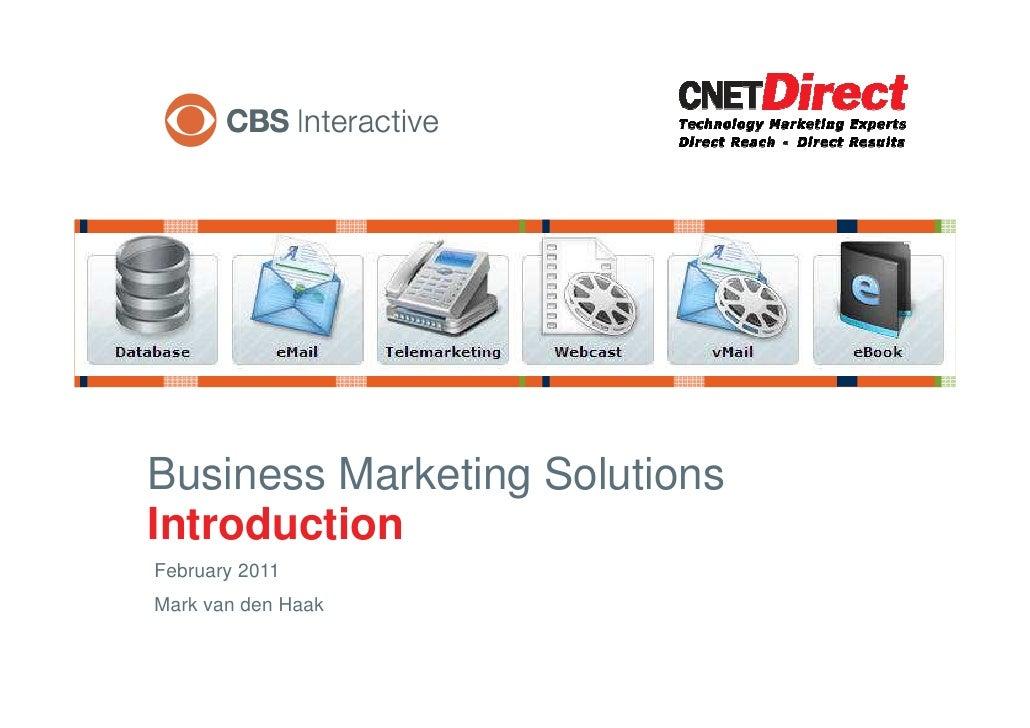 2011 CBSi Overview