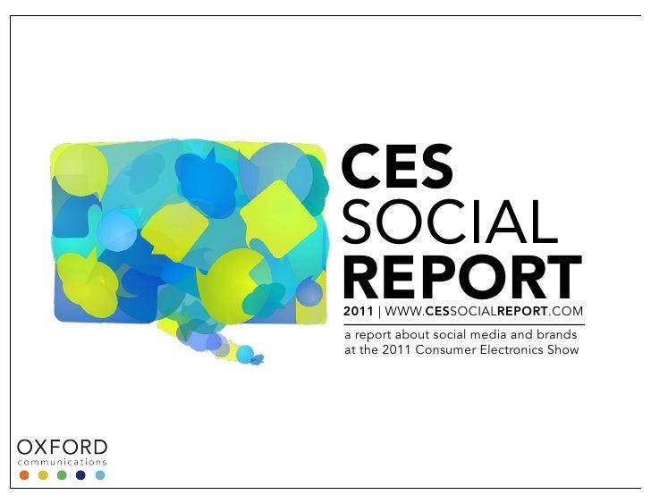 2011 CES Social Report