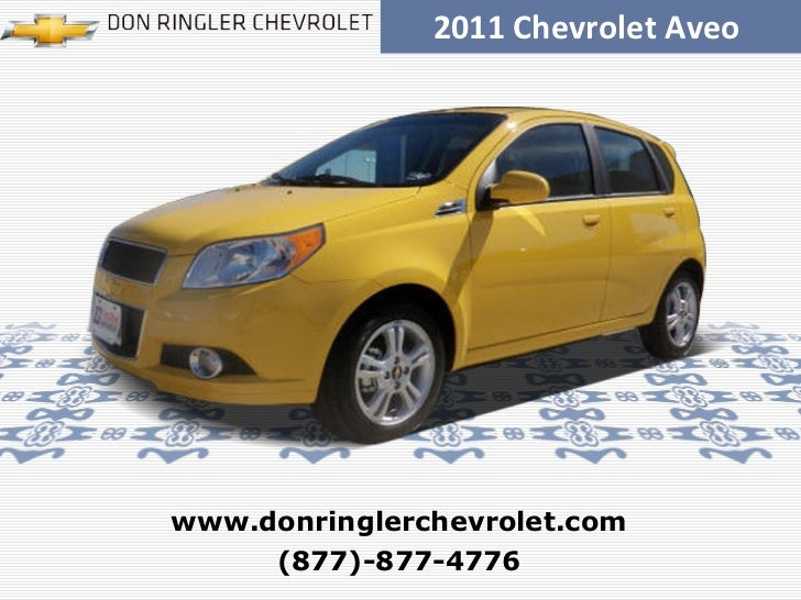 Certified 2011 Chevrolet Aveo Aveo5 2LT - Don Ringler Killeen Chevrolet Dealer