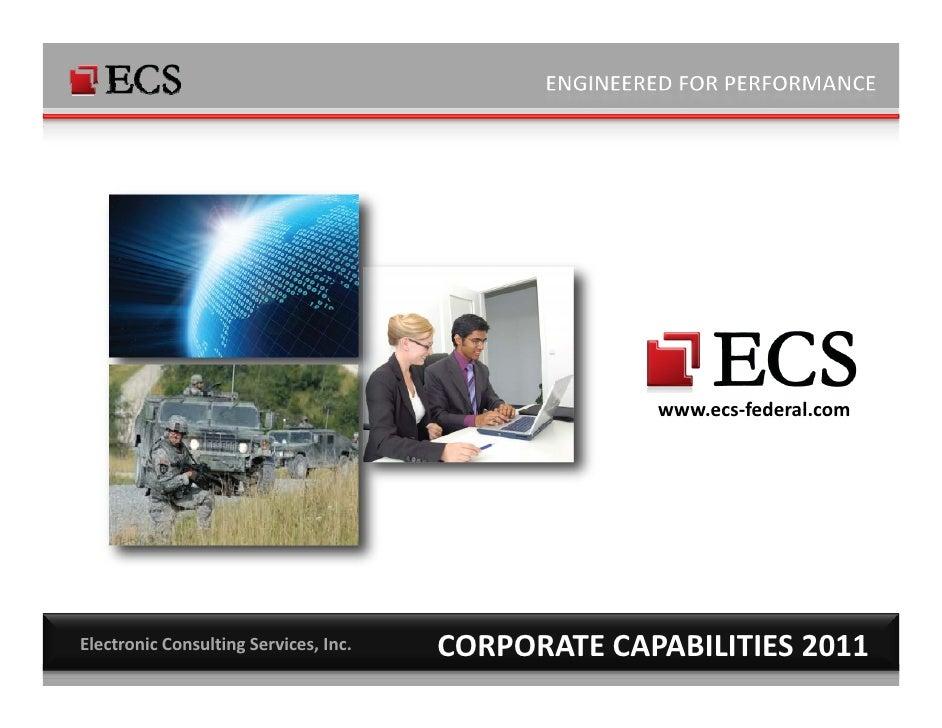 ECS Corporate Capabilites