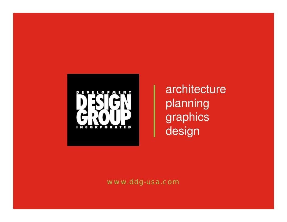 architecture             planning             graphics             design    www.ddg-usa.com