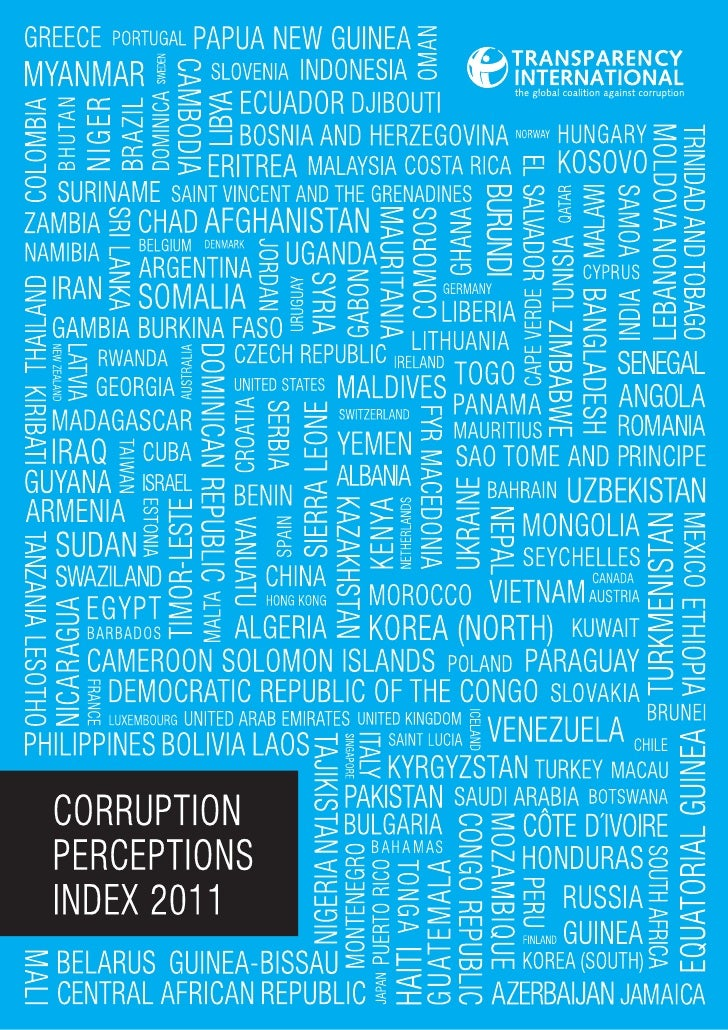 Transparency International is the global civil society organisation leading thefight against corruption. Through more than...