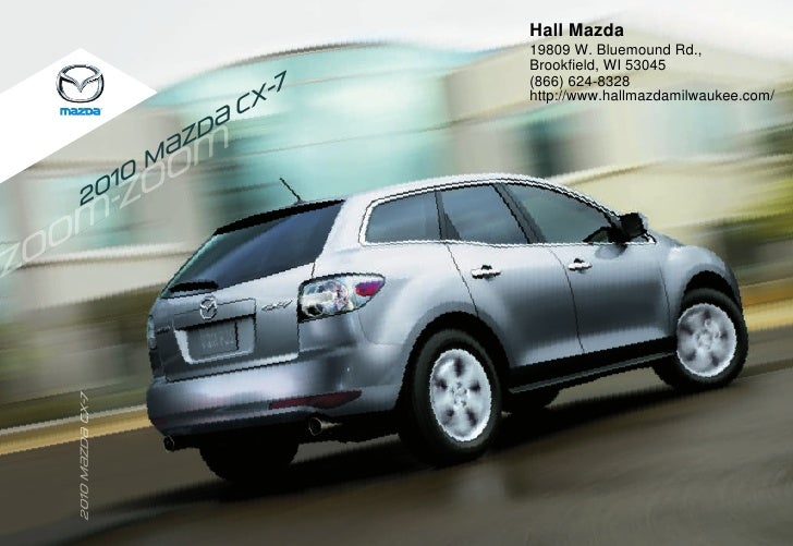 2011 Mazda Cx 7 Hall Mazda Wi
