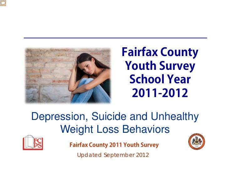 Fairfax County                          Youth Survey                           School Year                           2011-...