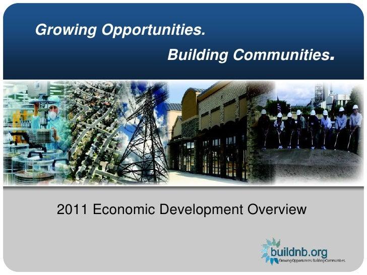 2011 Economic Development Overview