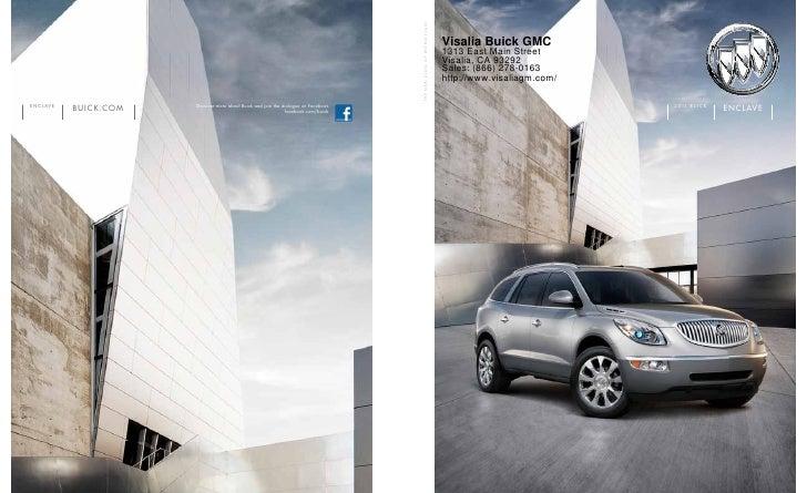 2011 Buick Enclave Fresno CA- Visalia Buick GMC