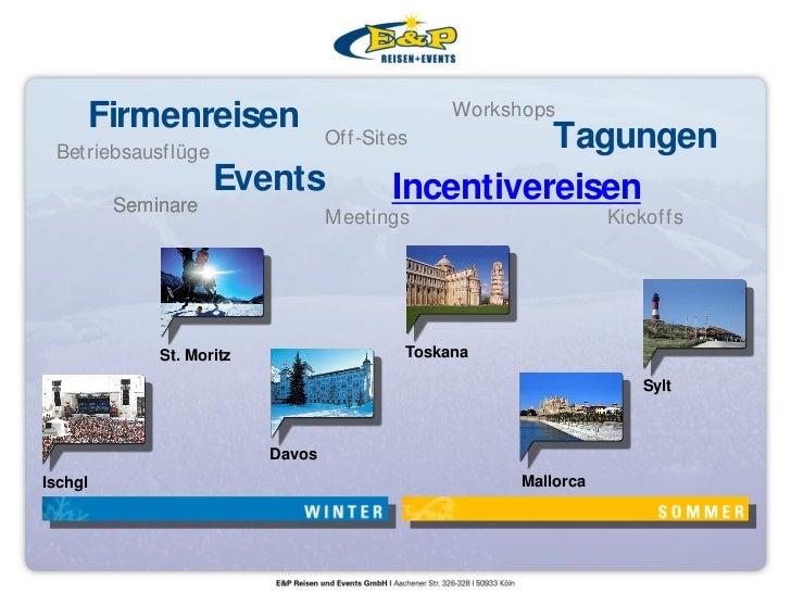 Firmenreisen                              Workshops Betriebsausflüge                                  Off-Sites        Tag...