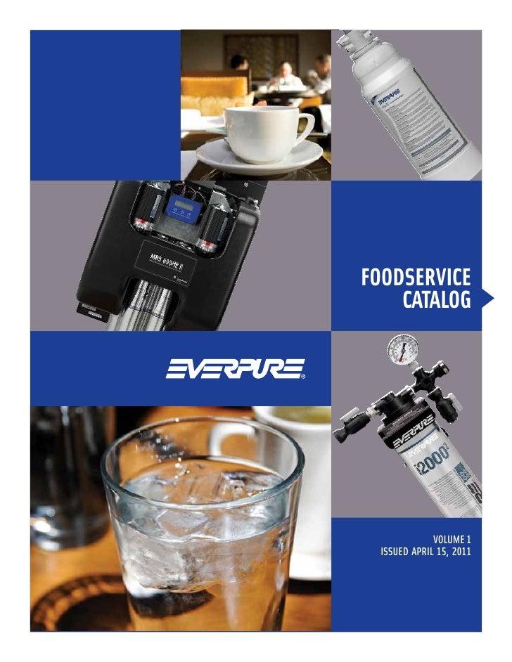 FoodService    catalog             VOLUME 1 ISSUED APRIL 15, 2011