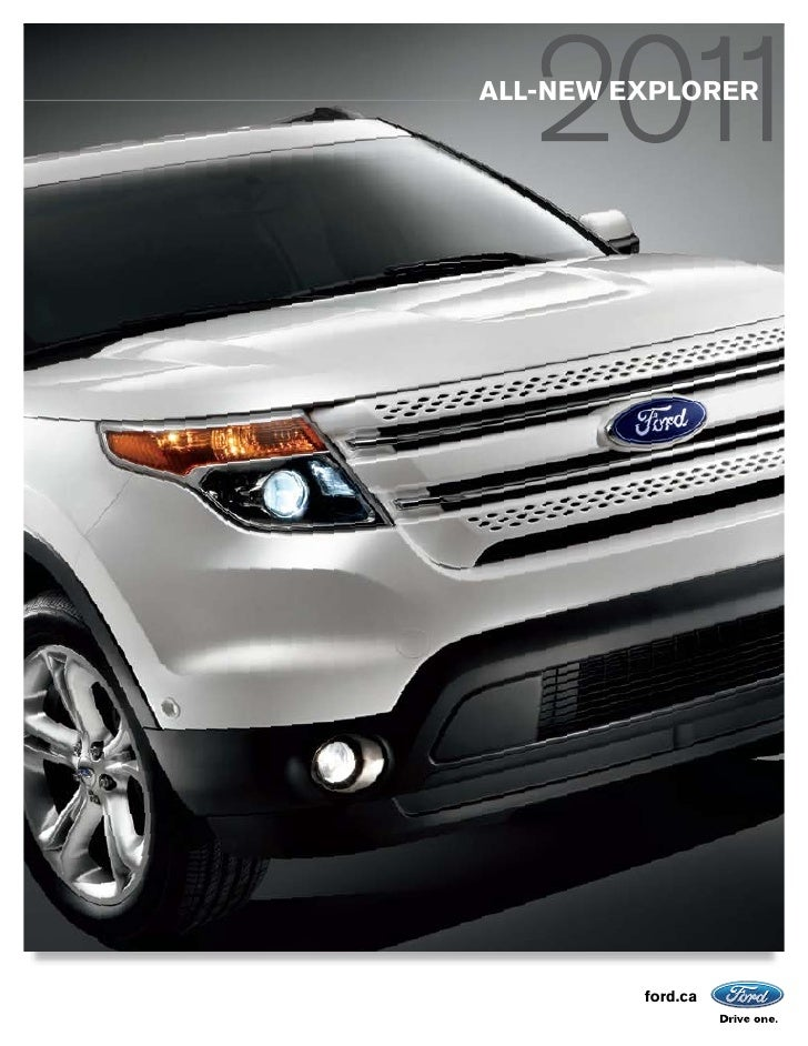 ALL-NEW EXPLORER         ford.ca