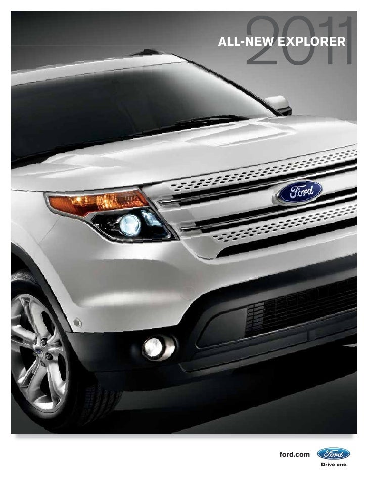 ALL-NEW EXPLORER       ford.com